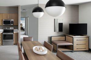 Two Bedroom Suite Kitchen/Living The Wilson Hotel