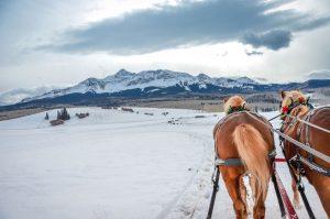 big sky sleigh ride