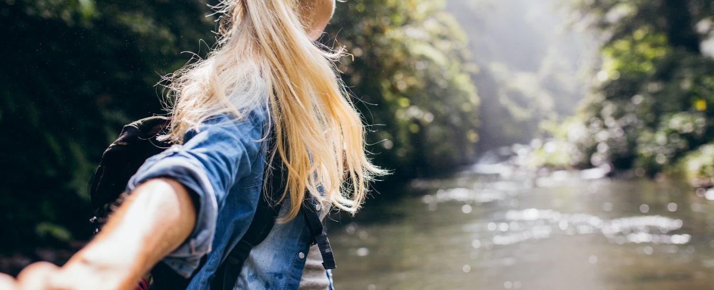romantic adventure couples getaway outdoor adventure hiking