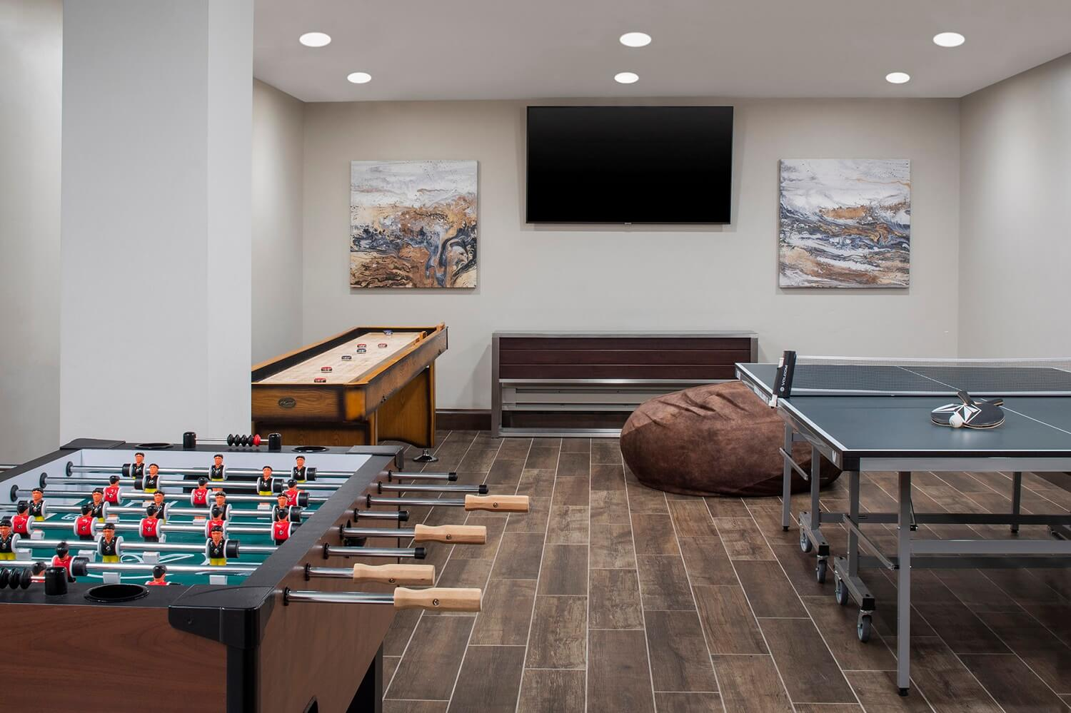 The Wilson Hotel Game Room