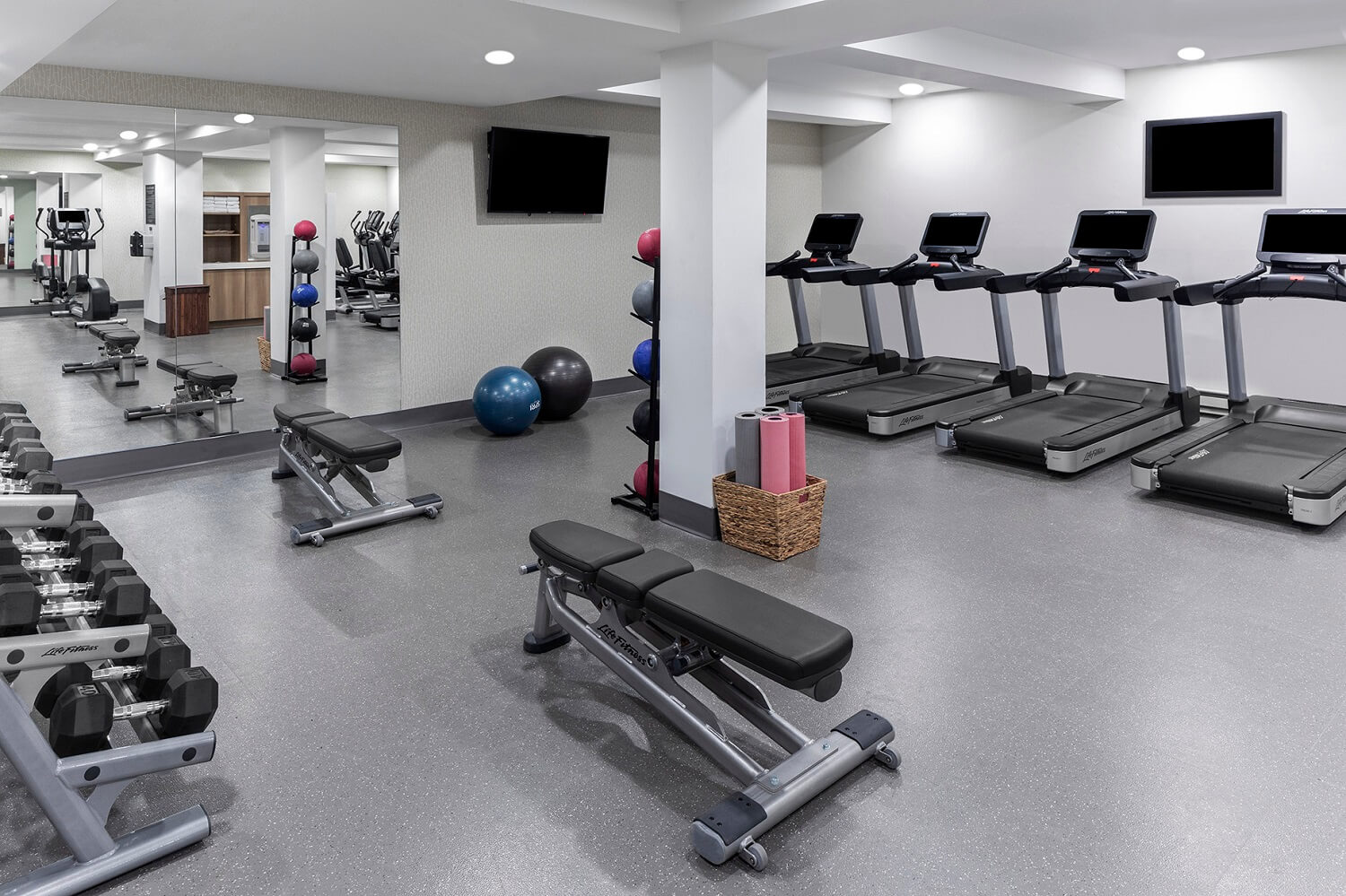 The Wilson Hotel fitness center