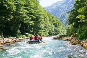 rafting gallatin river
