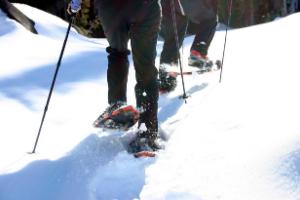 snowshoeing in big sky mt (1)