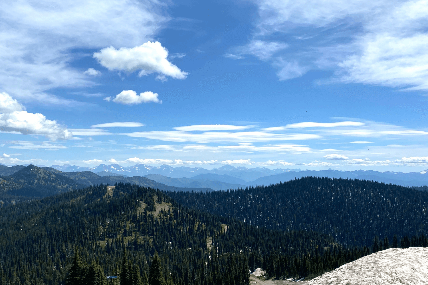 big sky mt scenery